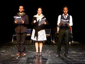 Schwarz gemacht - Tomas Spencer (Walter), Alexandra Spencer (Ruth) and Ernest Allan Hausmann (Klaus)_WEB