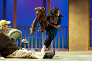 "Sam Shepards "" Buried Child "" im F40, english theatre berlin, Premiere 15. April 2010."