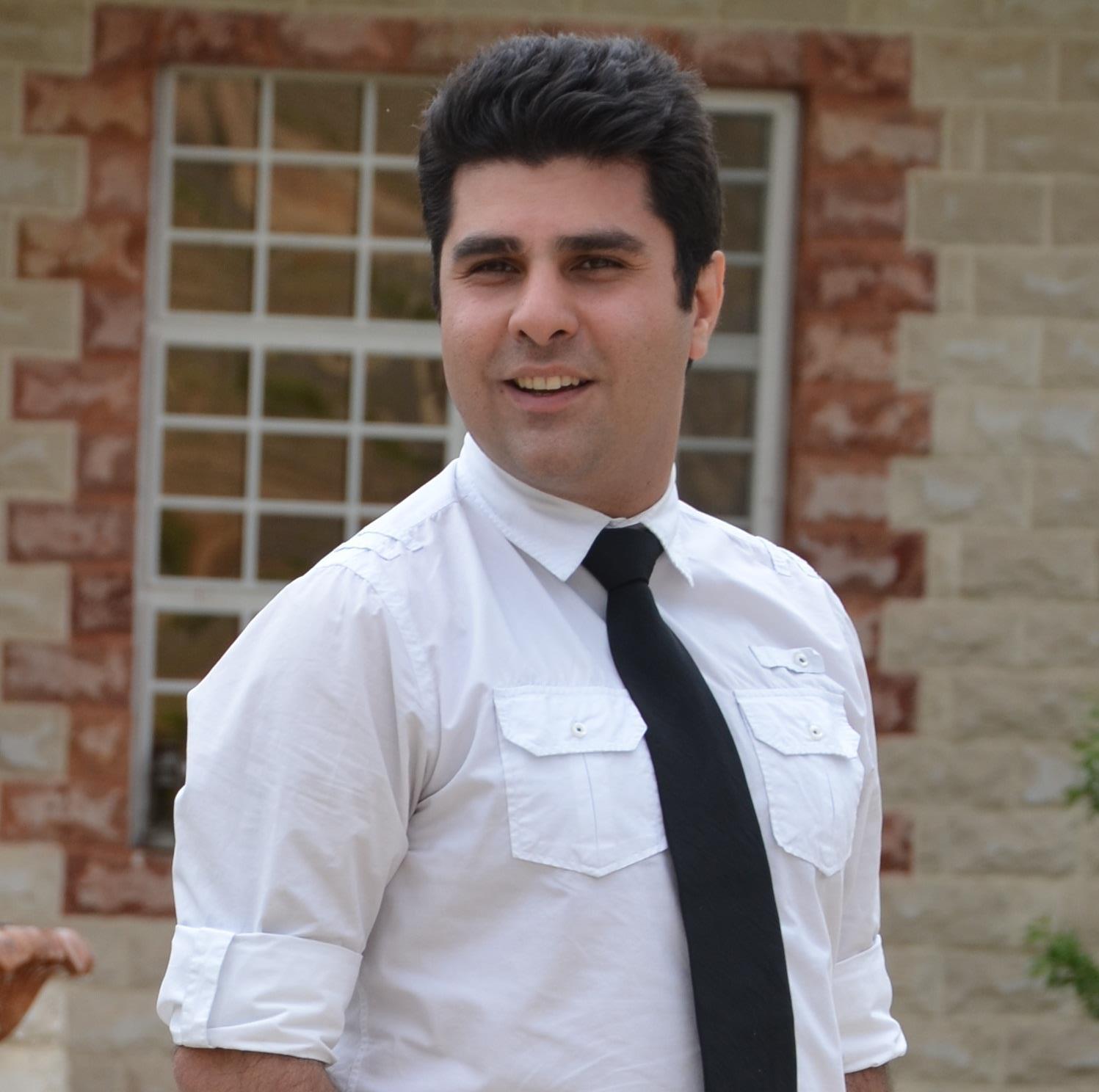 White Rabbit Red Rabbit_Portrait of Nassim Soleimanpour